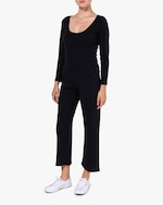 Leset Black Burnout Pants 2