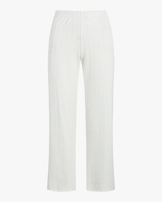Leset White Burnout Pants 0