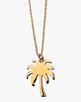 Joolz by Martha Calvo Palm Tree Necklace 1