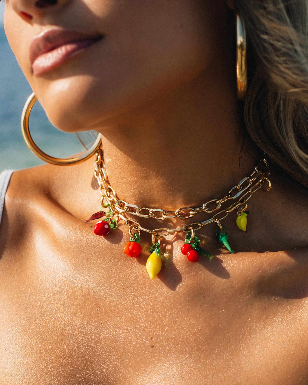 Joolz by Martha Calvo Tubular Hoop Earrings 1