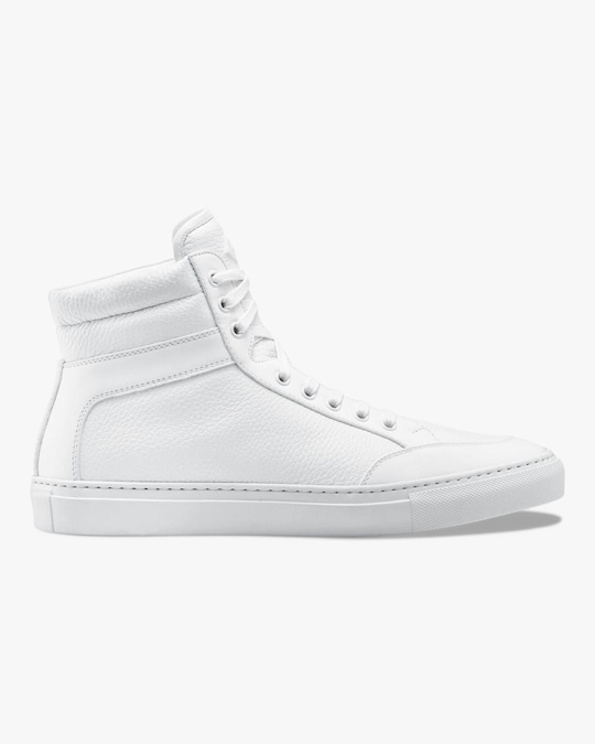 KOIO Triple White Primo Hi-Top Sneaker 0
