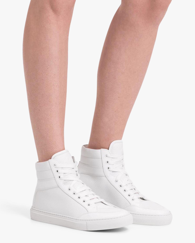 KOIO Primo Triple White Hi-Top Sneaker 2