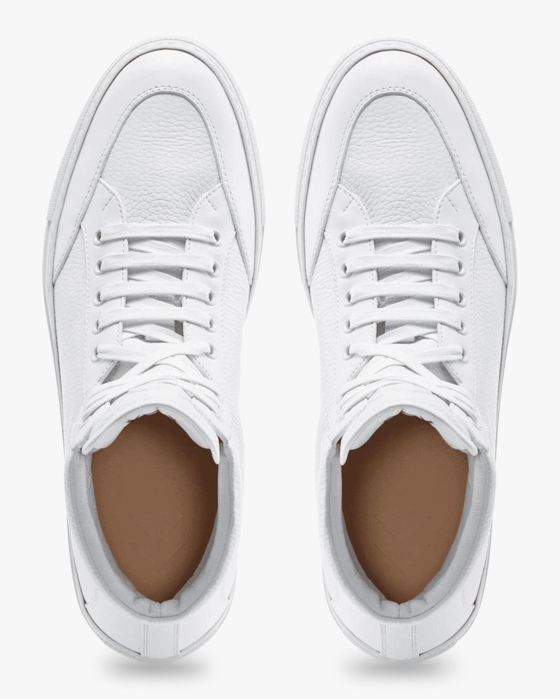 KOIO Primo Triple White Hi-Top Sneaker 3