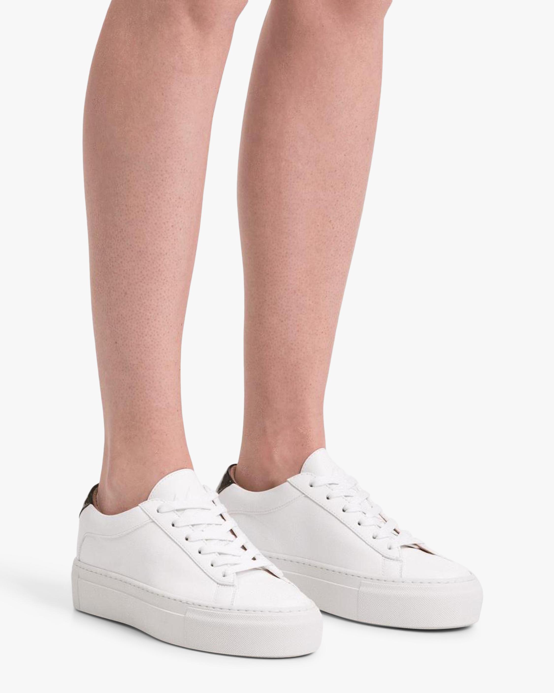 Bianco Platform Sneaker