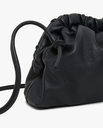 Mansur Gavriel Black Flamma Mini Cloud Clutch 2