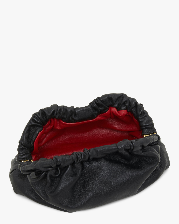 Mansur Gavriel Black Flamma Mini Cloud Clutch 2