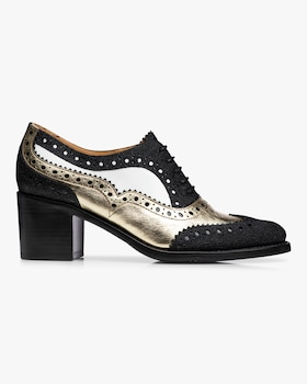 Mrs. Doubt Heeled Oxford