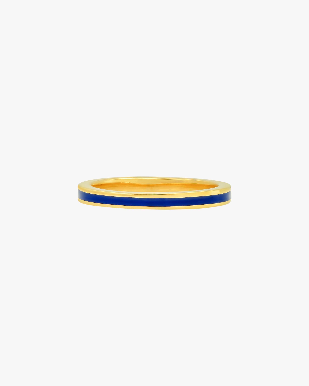 Colette Jewelry Blue Enamel Band 0