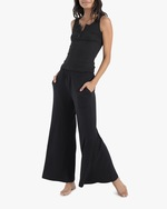 ASKK Black Ribbed Pants 1