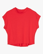 ASKK Engine Red Cropped Tee 0