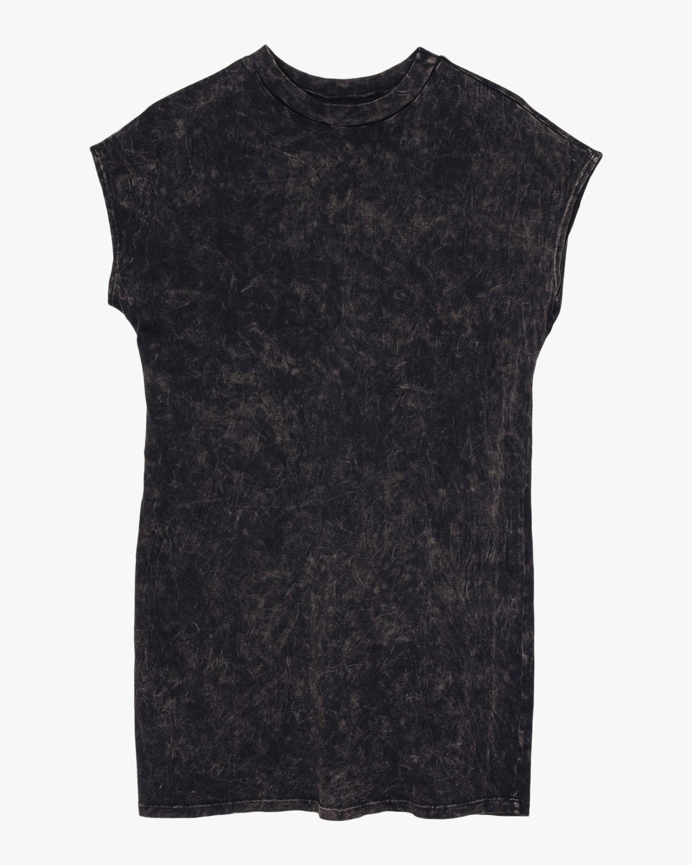 ASKK Mineral Black Tee Dress 0