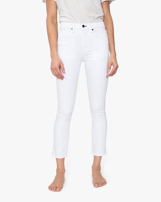 ASKK High-Rise Cropped Jeans 1