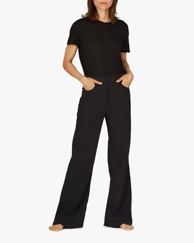 ASKK Black Wide-Leg Pants 1