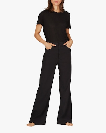 ASKK Black Wide-Leg Pants 1