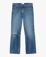 ASKK High-Rise Cropped Boot Cut Jeans 0