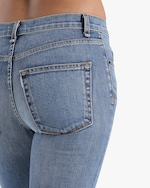 ASKK High-Rise Cropped Boot Cut Jeans 4