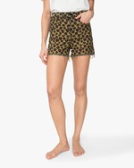 ASKK Leopard High-Rise Shorts 1