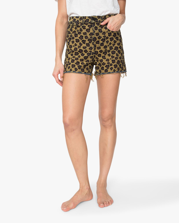 ASKK Leopard High-Rise Shorts 2