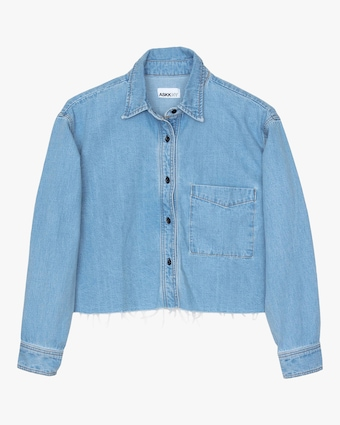 ASKK Cropped Denim Shirt 1