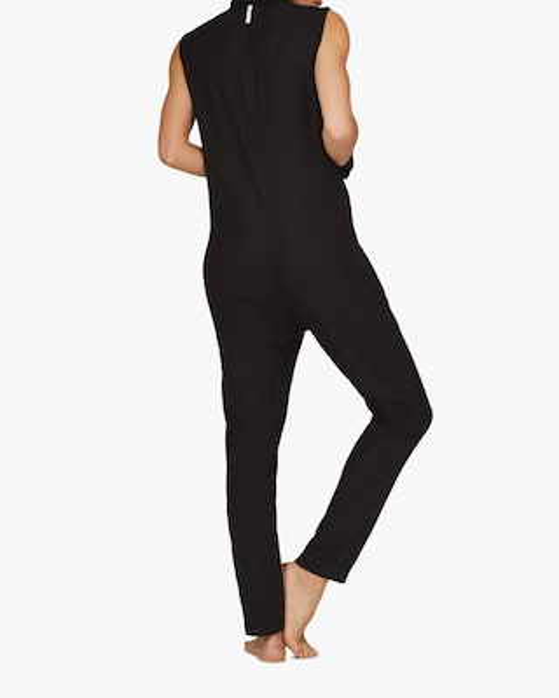 ASKK Black Zip-Front Jumpsuit 2
