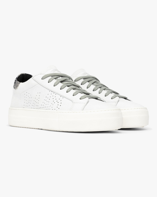 P448 Snakeskin Thea Sneaker 1