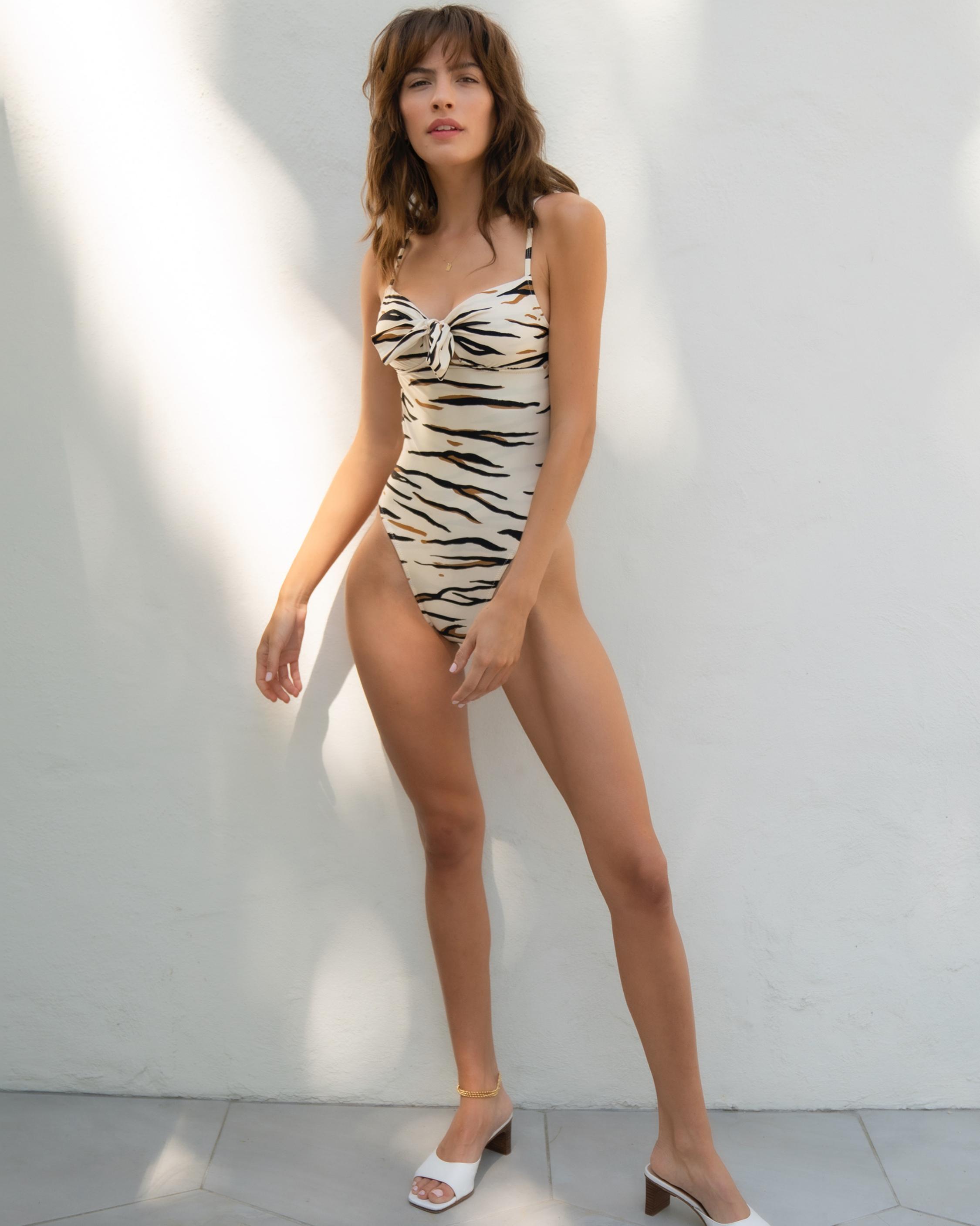 Sidway Swim LeTigre Diana One-Piece Swimsuit 3