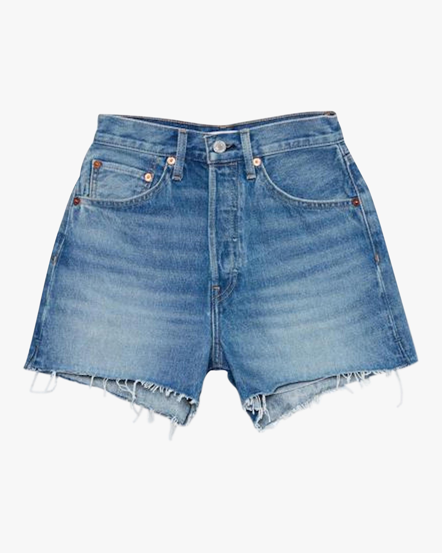 RE/DONE 50S Cut-Off Denim Shorts 0