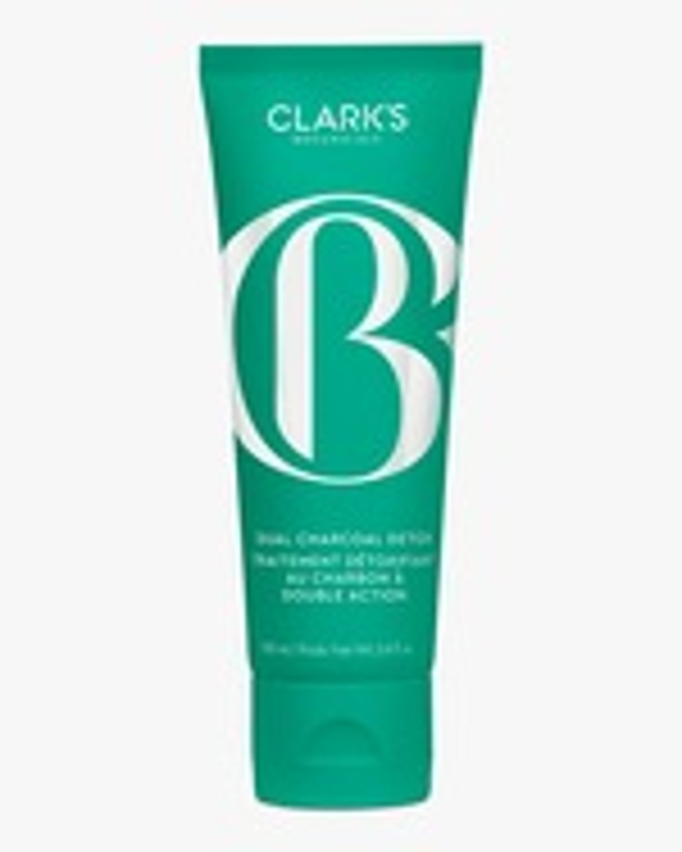 Clark's Botanicals Dual Charcoal Detox 100ml 0