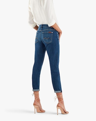 7 For All Mankind Josefina Boyfriend Jeans 2