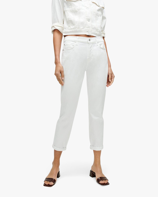 7 For All Mankind Josefina Boyfriend Jeans 0