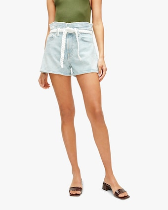 7 For All Mankind Paper Bag Shorts 1