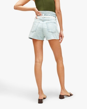 7 For All Mankind Paper Bag Shorts 2