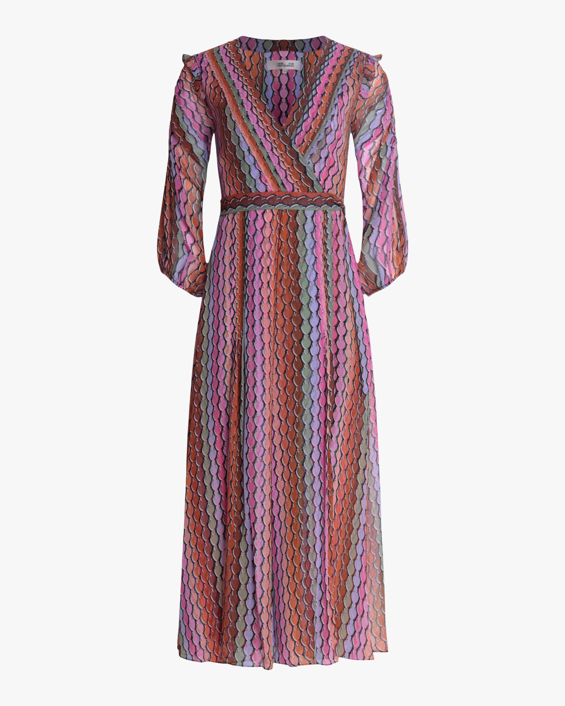 Diane von Furstenberg Bree Midi Dress 0