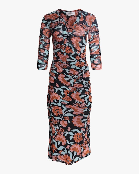 Diane von Furstenberg Briella Midi Dress 0