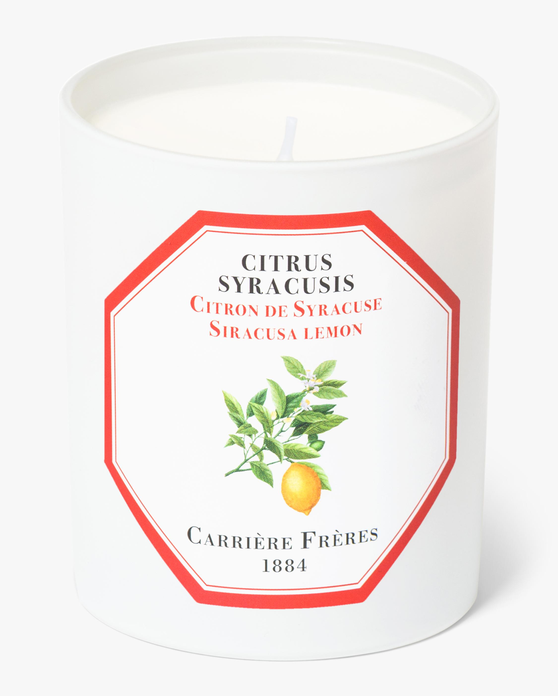 Carrière Frères Citrus Syracusis Siracusa Lemon Candle 1