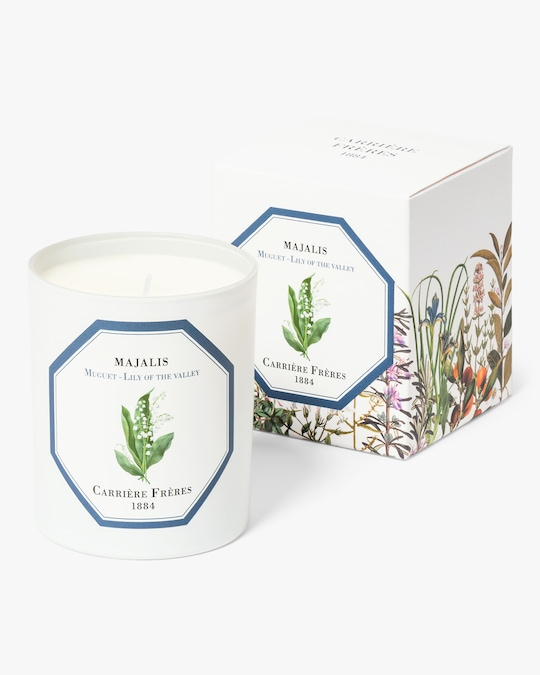 Carrière Frères Majalis Lily of the Valley Candle 1