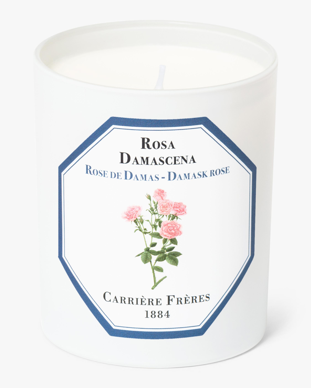 Carrière Frères Rosa Damascena Damask Rose Candle 1