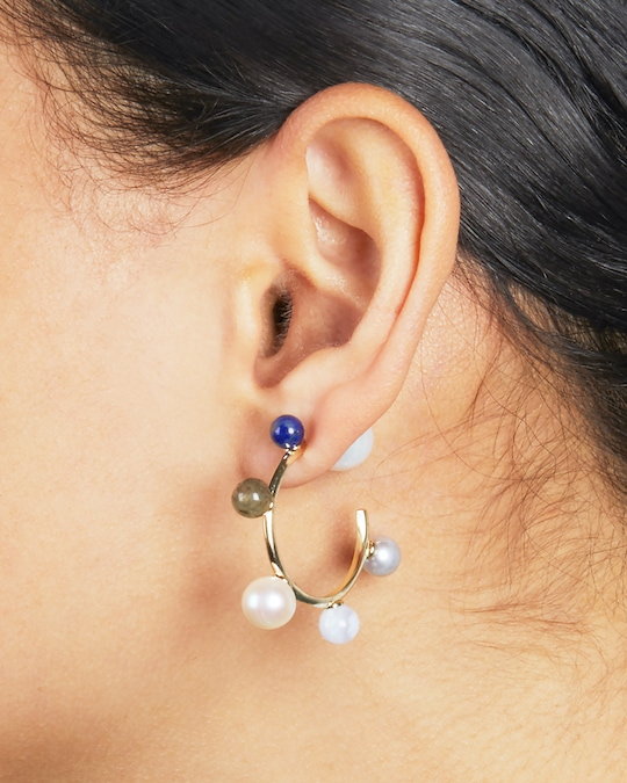 Carolee Dona Mini Hoop Earrings 1