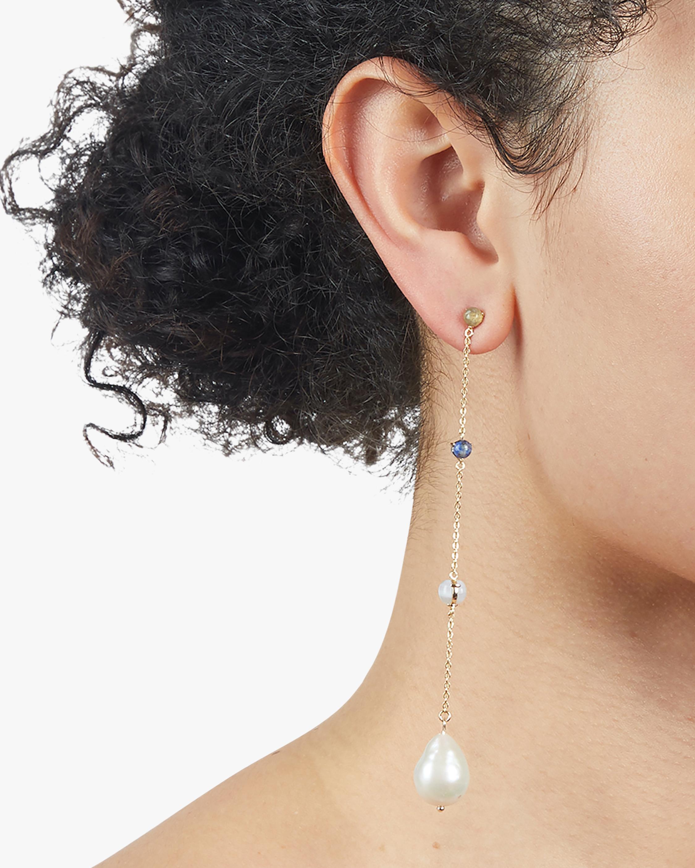 Dona Linear Drop Earrings