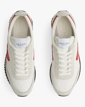 rag & bone White Retro Runner 2