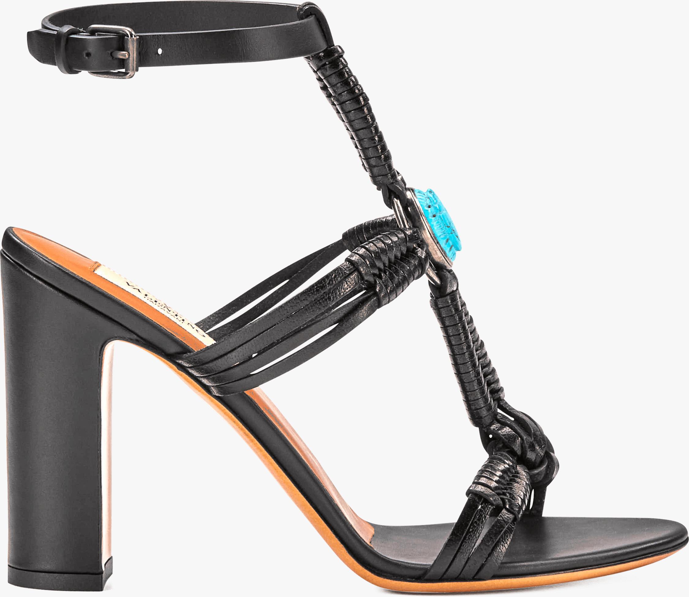 Scarab Ankle Strap Sandal