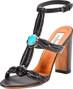 Scarab Ankle Strap Sandal image two