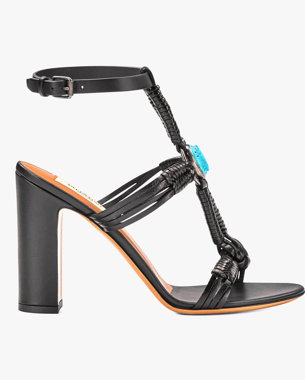 Valentino Scarab Ankle Strap Sandal 1