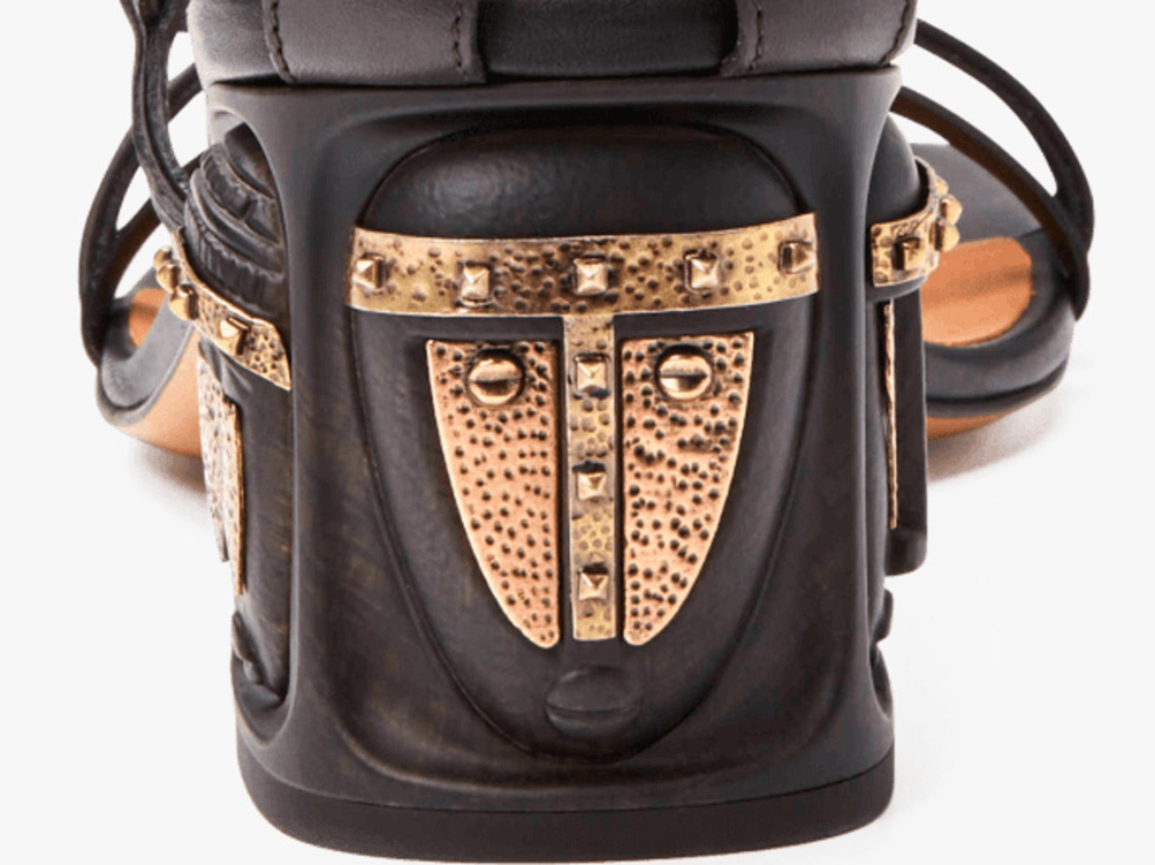 Valentino Tribe Gladiator Heeled Sandal 2