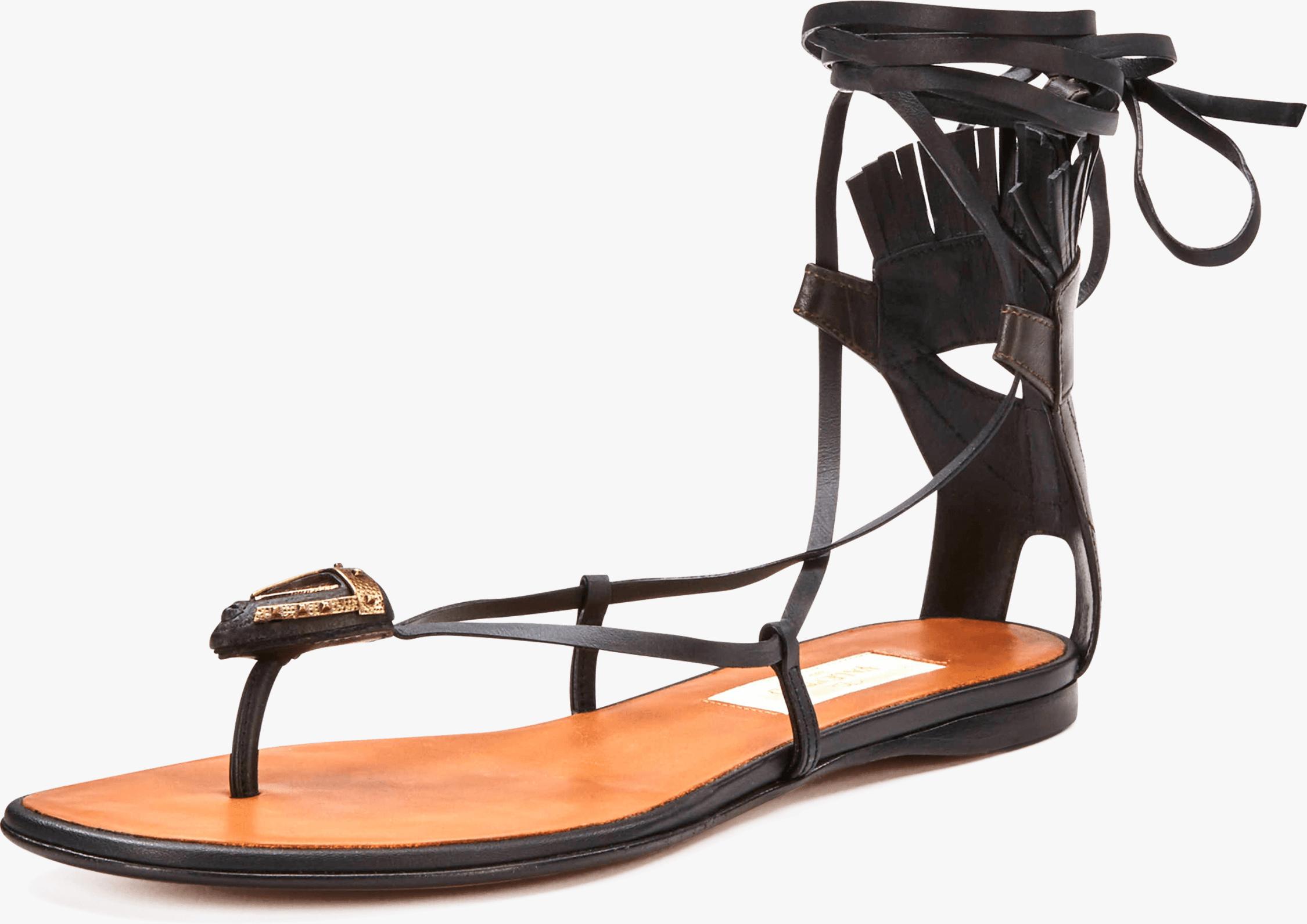Valentino Tribe Gladiator Flat Sandal 2