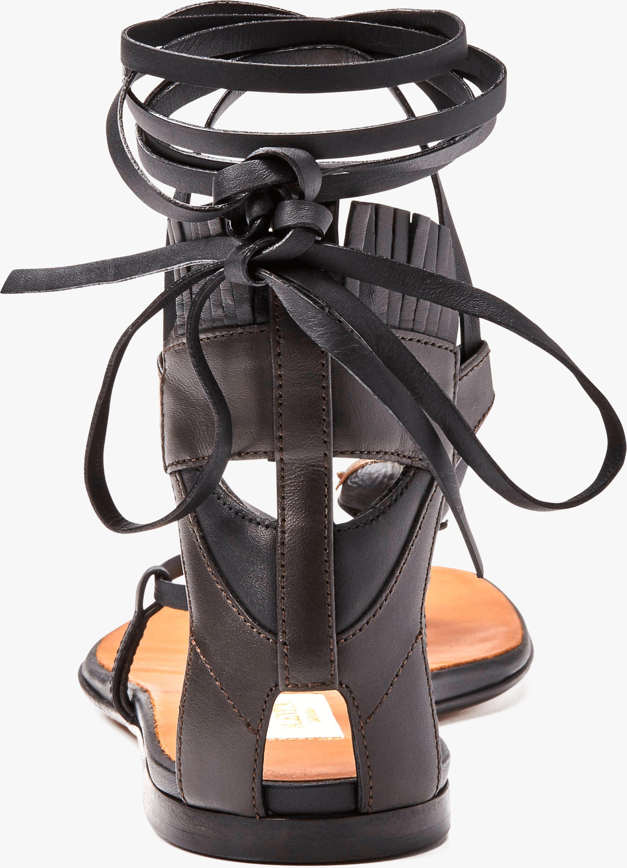 Valentino Tribe Gladiator Flat Sandal 4