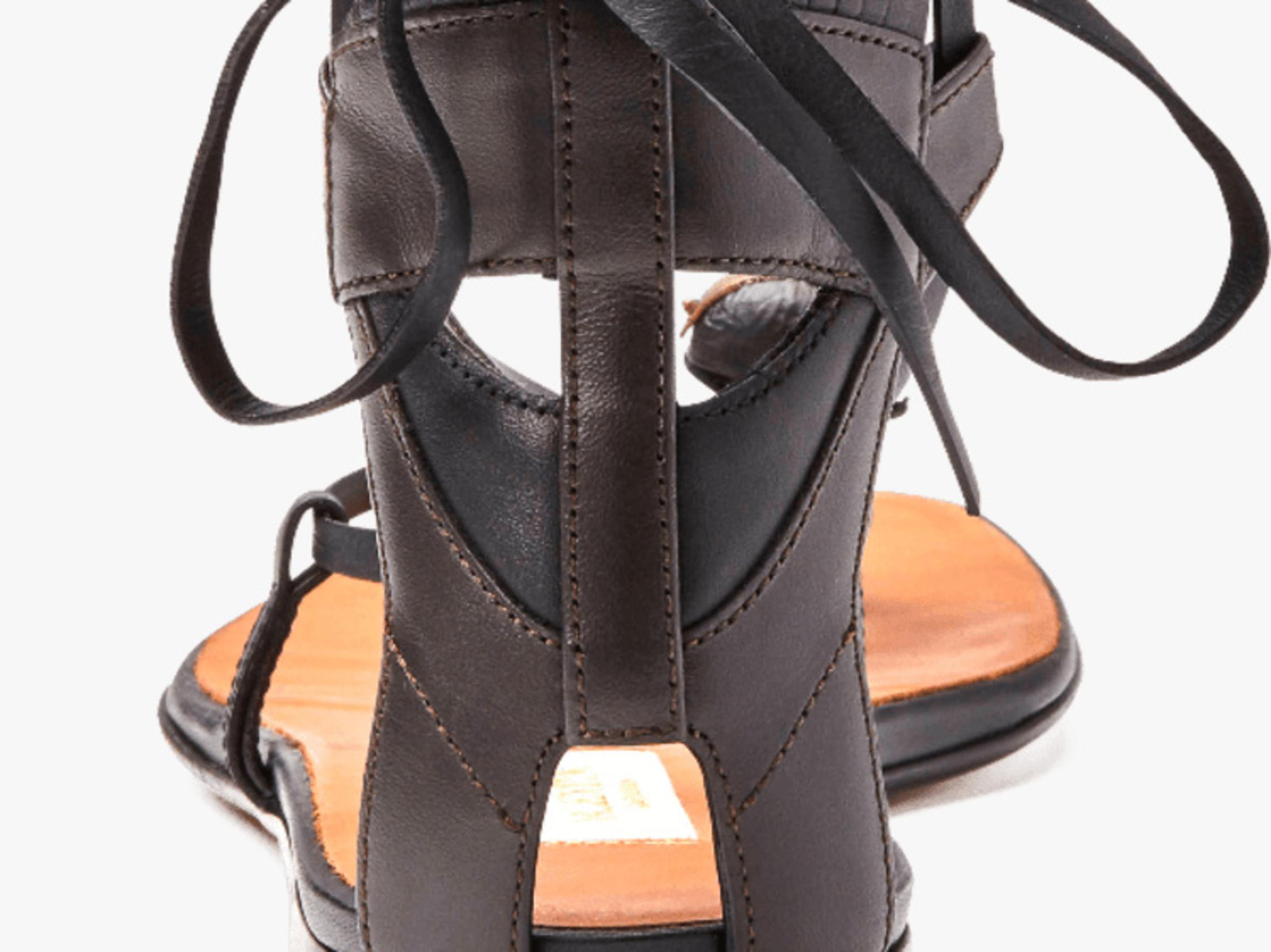 Valentino Tribe Gladiator Flat Sandal 1