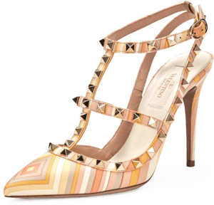 Rockstud Slingback Pump image two