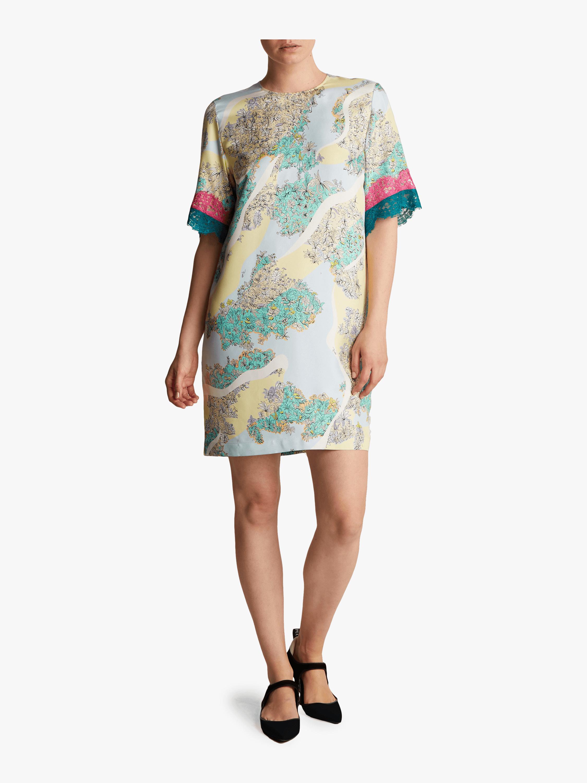 Floridiana Printed Shift Dress