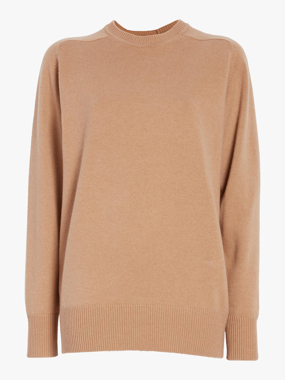 Oversize Cashmere Crew Neck Sweater